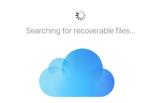 Recover Lost Data from iCloud